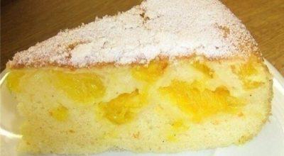 Нежный вкуснейший пирог с апельсинами