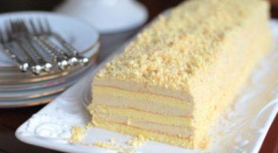 Удивительно вкусный торт «Славянка»