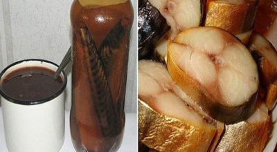 Золотистая скумбрия в бутылке — настоящий деликатес