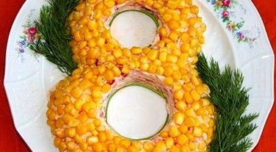 10 рецептов блюд к 8 Марта