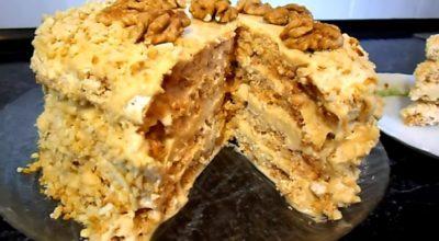 Самый вкусный «Киевский» тортик с безе и орехами