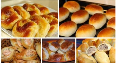 5 простых, но очень вкусных рецептов пирожков. На любой вкус