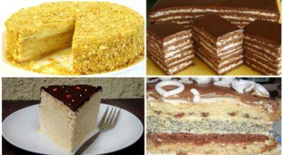 5 самых вкусных домашних тортов. Отличная подборка, которую стоит сохранить