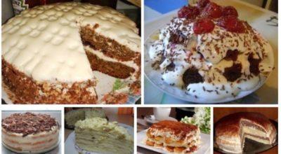 6 лучших рецептов самых быстрых и вкусных тортов