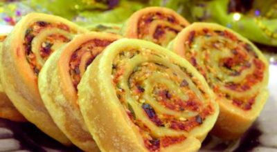 Алупатры (картофельные рулетики) — постное блюдо индийской кухни
