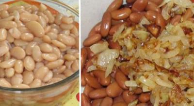 Очень простой и вкусный салат с фасолью и грибами