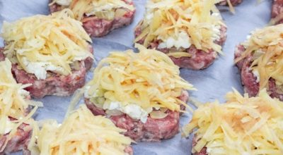 Оригинальное угощение в духовке: именно это блюдо я приготовлю на званый обед из 500 граммов фарша и сырого картофеля