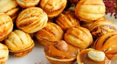 Простейший рецепт приготовления печенья «Орешки»