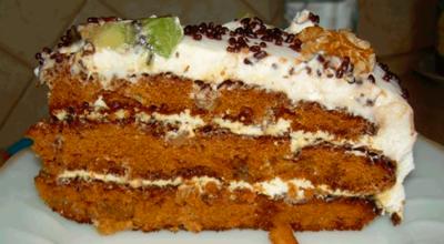 Простой домашний торт «Татьяна»