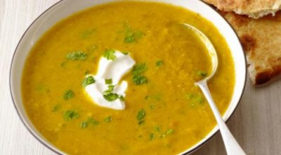 Вкусный пряный суп из чечевицы