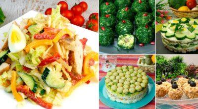 5 отличных рецептов приготовления праздничных салатов