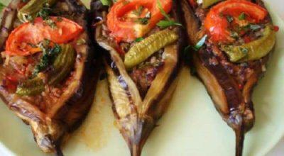 Баклажаны запеченные в духовке с мясом по-турецки — гениально просто и вкусно