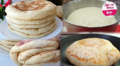 Базлама – лепешки, вместо хлеба – просто Фантастика!