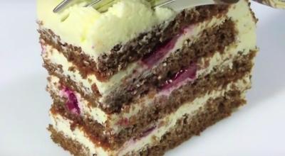 Бесподобно вкусный творожный торт за 30 минут