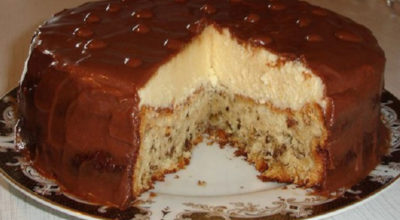 Безумно вкусный тортик «Эскимо». Это просто сказка