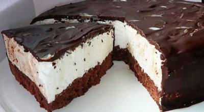 Легкий и быстрый торт «ПТИЧЬЕ МОЛОКО» для гурманов