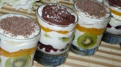 Десерт творожный – просто пальчики оближешь. Домашние его обожают