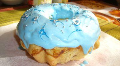 Голубой кулич — Самый вкусный кулич))