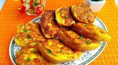 Горячие бутерброды с сыром и колбасой — завтрак для всей семьи за 20 минут: пошаговый рецепт с фото