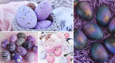 Как необычно покрасить яйца на Пасху: простые и красивые способы (фото, видео)