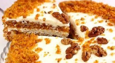 Непревзойденный морковный бархатный торт