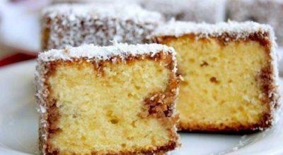 Нежнейшее бисквитное пирожное