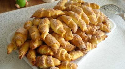 Рогалики приготовленные по бабушкиному рецепту. Нежные и очень вкусные
