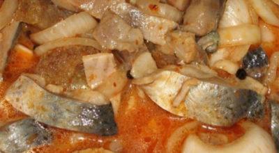 Селедочка по-корейски. Вкус изумительный
