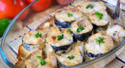 Скумбрия запеченная в духовке: пошаговый рецепт с фото