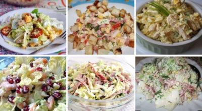 ТОП-6 вкусных и простых рецептов салатов с пекинской капустой. Сохраните рецепты