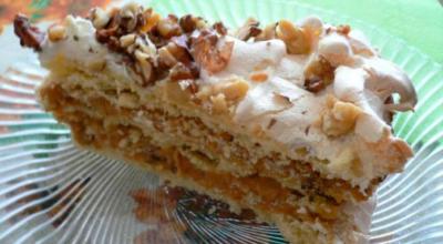 Торт А-ля по-киевски с изысканным вкусом и безупречным ароматом