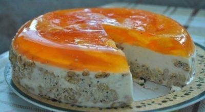 Торт «Апельсинка» без выпечки. Мой любимый тортик. Получается всегда безупречно