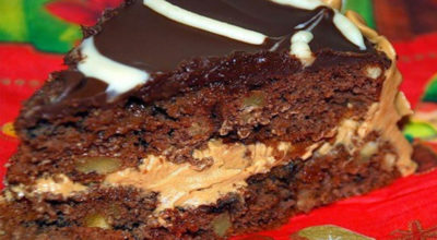 Торт, который ешь с невероятным удовольствием и восхищением