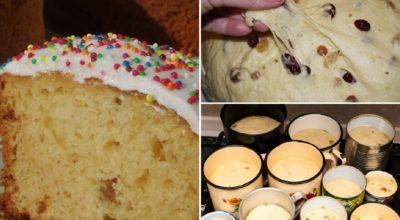 Венское тесто, душистое, любимое. Готовлю опару с вечера, а утром замешиваю тесто и выпекаю куличи