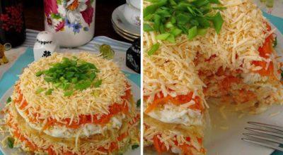 Вкуснейший салат «Французский»
