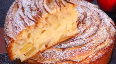 Яблочный пирог «Роза»: шикарная домашняя выпечка для холодных вечеров