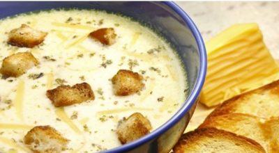 6 простых и невероятно вкусных сырных супов