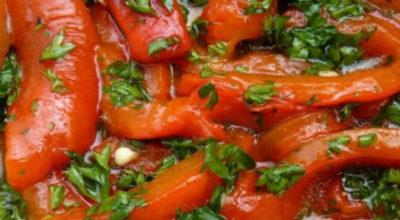Если готовить болгарский перец, то только так. Потрясающая заготовка на зиму с чесноком