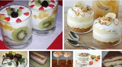 Коллекция вкуснейших десертов