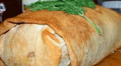 Потрясающе вкусная курица в лаваше