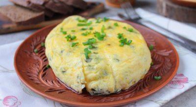 Омлет в пакете с сыром и зеленью: пошаговый рецепт с фото