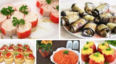 ТОР — 10 Рецептов приготовления замечательных закусок