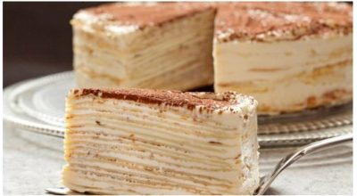 Торт «Kрепвиль». Невероятно вкусно