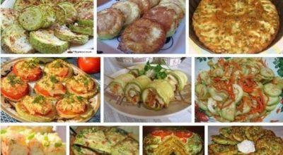 Восхитительная подборка рецептов с кабачками