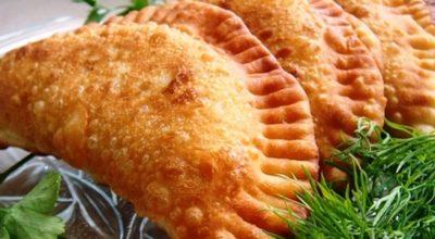 Чебуреки с мясом: вкуснейшее хрустящее тесто. Попробуйте