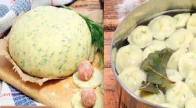 Этот рецепт мне дала одна женщина, которая много лет прожила на Алтае, и с тех пор я делаю тесто для пельменей и вареников