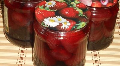 Идеальное клубничное варенье — ягодка к ягодке