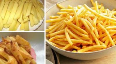 Картошка фри без единой капли жира, которую без опаски можно готовить детям хоть каждый день