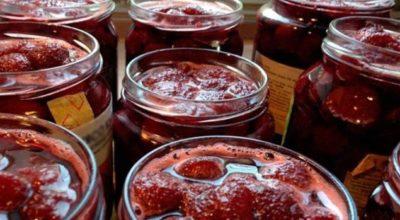Клубничное варенье на зиму с целыми ягодами