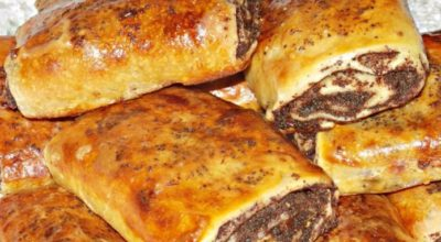 Любимая выпечка детства — ароматные, мягкие, вкусные сдобные булочки с маком и изюмом